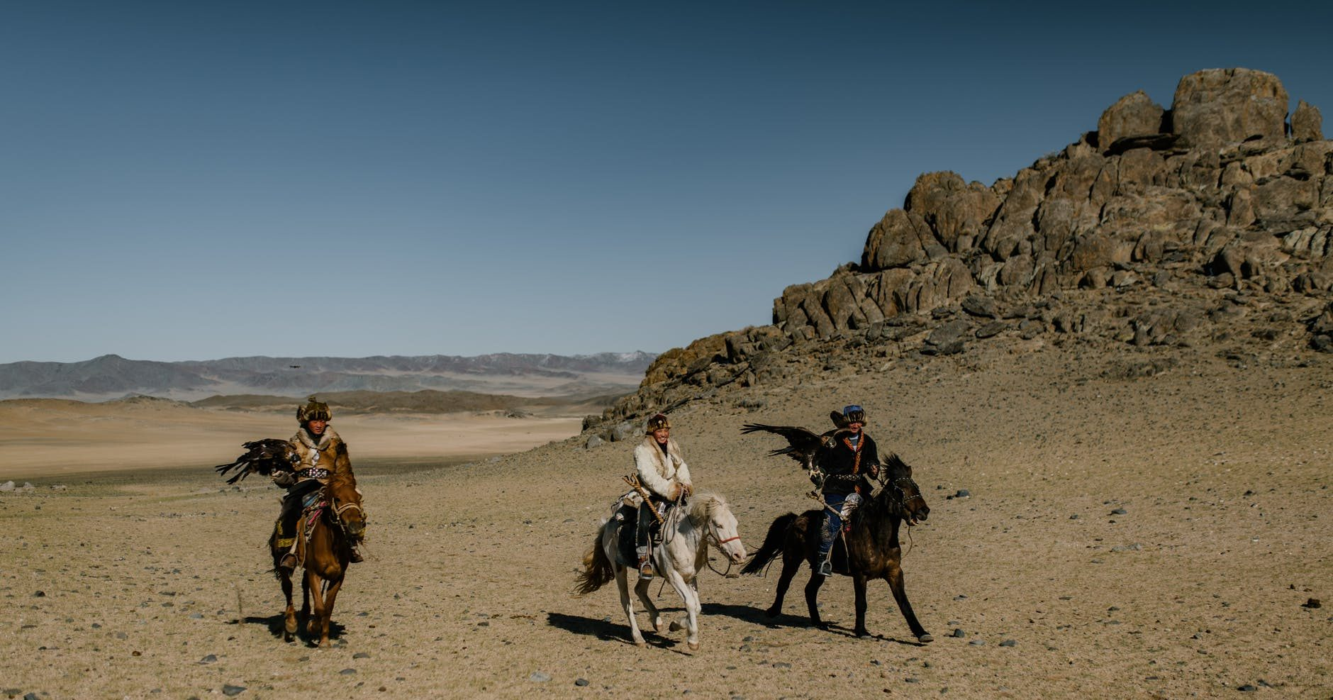 man people sand desert