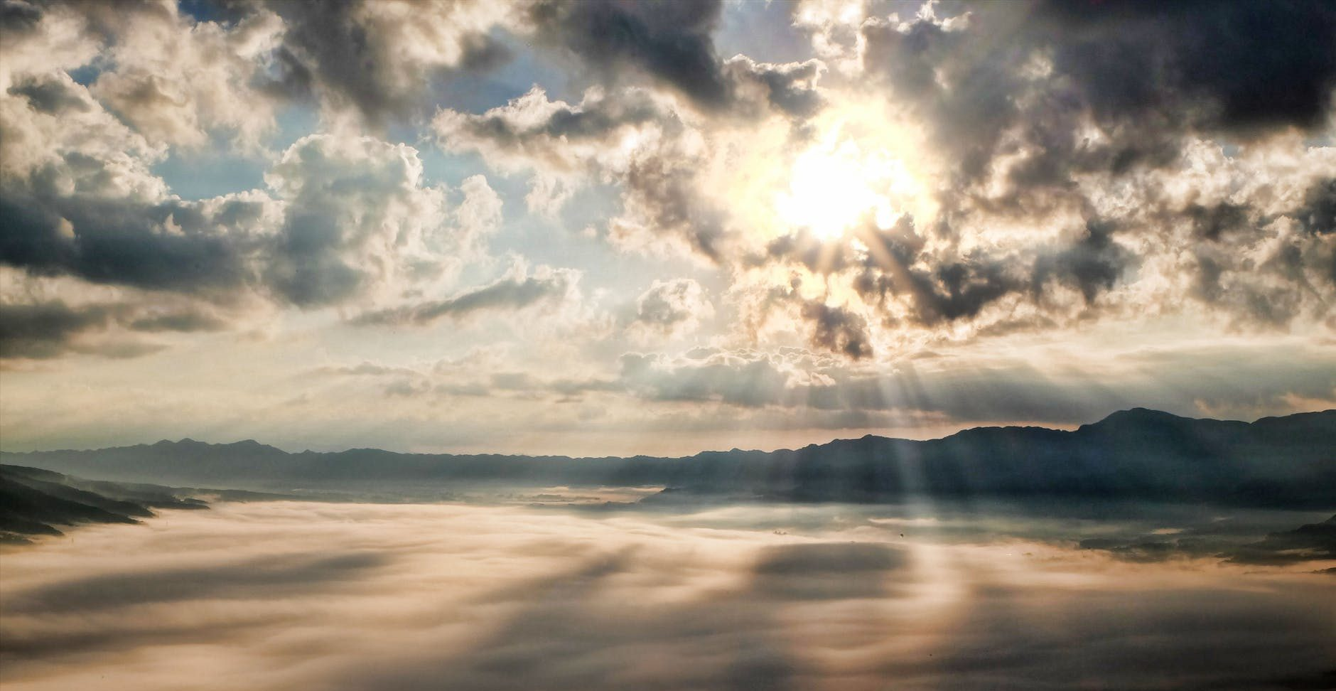 light sun cloud japan